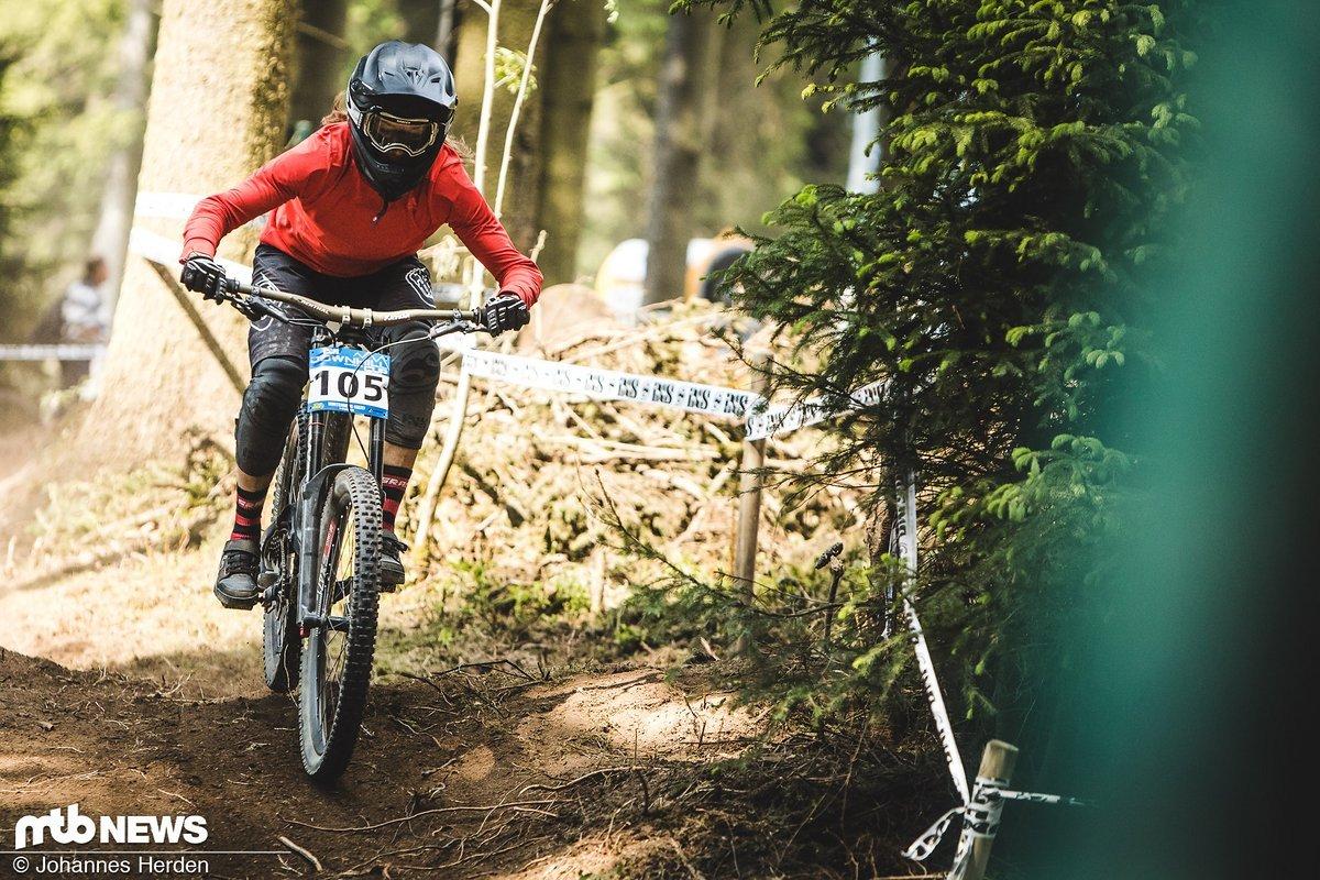 Silja Fröhlich – 6. bei den Elite-Frauen