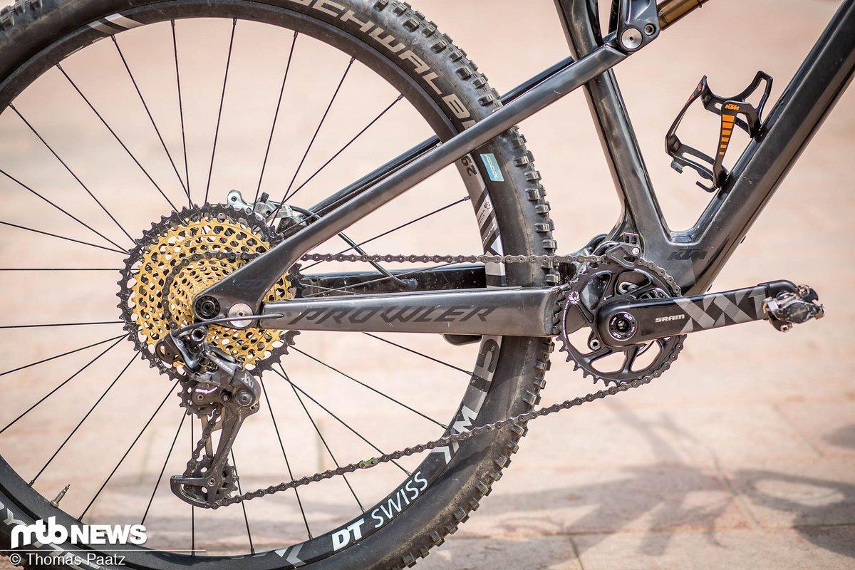Die SRAM XX1 Eagle am Vorführrad ist ein echter Hingucker
