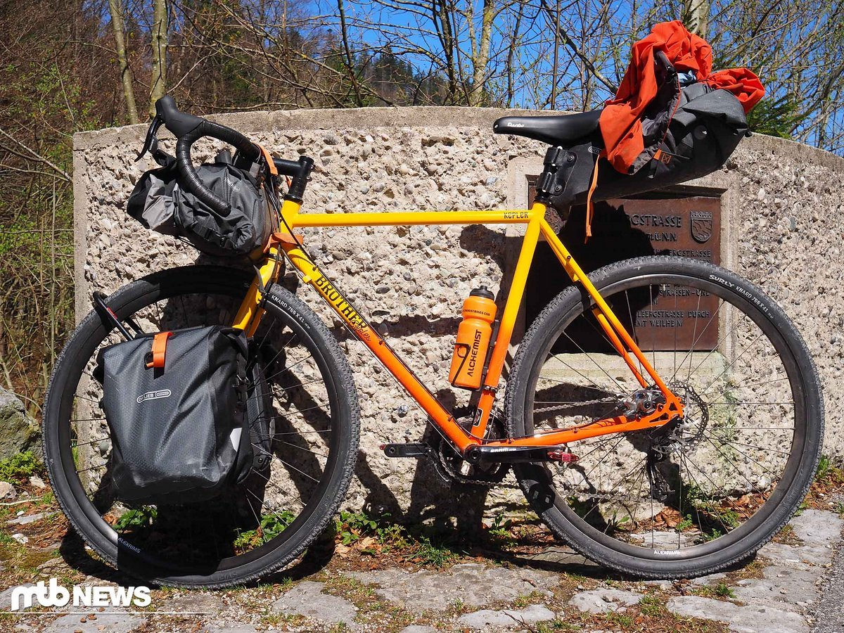 ortlieb gravel pack im test neue bikepacking kollektion. Black Bedroom Furniture Sets. Home Design Ideas
