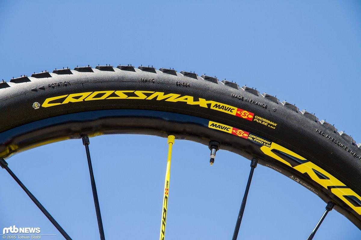 f8dd904e Sondermodell: Mavic Crossmax SL Pro WTS Ltd mit dem Crossmax Pulse Reifen