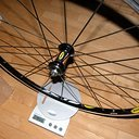 Laufrad - Vorderrad - Mavic Crossride UB 2008 - 849g.JPG