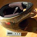 Helm - Troy Lee Designs D2 Rustic gold Größe M-L - 1087g.JPG