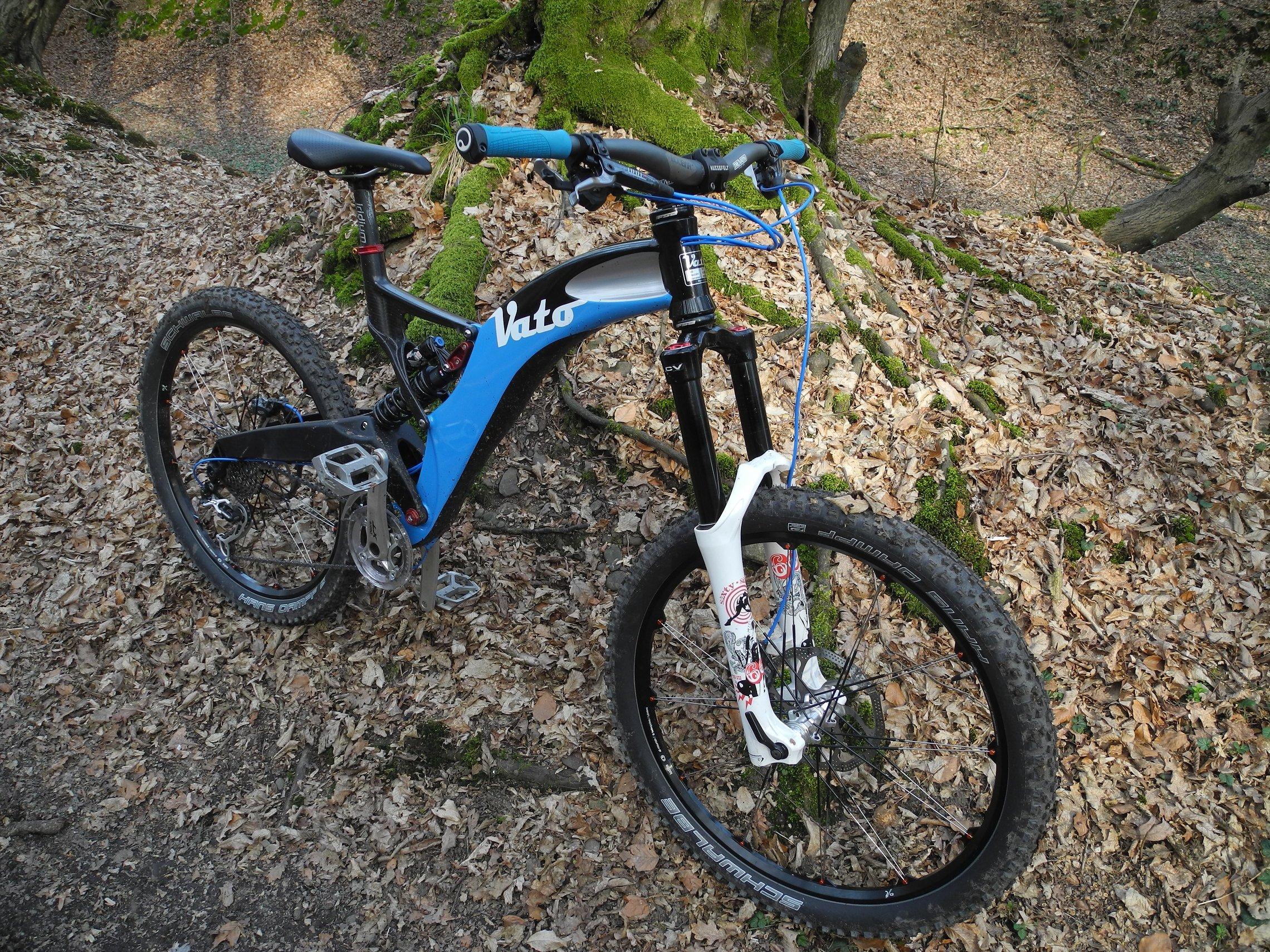 Bike der Woche: VATO 20 Eigenbau (Fräskunstwerk)