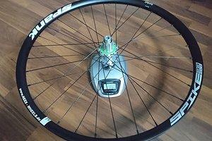 """Spank Spike Race33 + Hope Pro4 Hinterrad 12x142mm + Sapim D-Light und Sapim Laser, """"normaler Freilauf"""""""