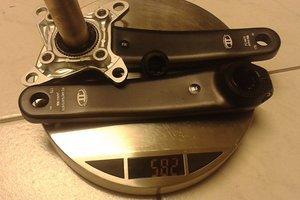 Shimano SLX Kurbelgarnitur FC-M675 Hollowtech II
