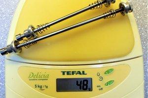 Precision Billet alloy bolt-on skewers