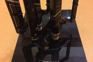 Delta Evo Pedal Titanium Axles