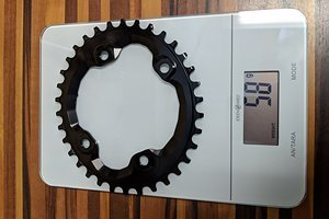 Shimano M8000 34 T Oval