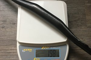 Gothic Bar Carbon (15mm Rise)