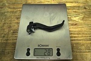 MT6/7 Bremsgriff Aluminium Reach Adjust