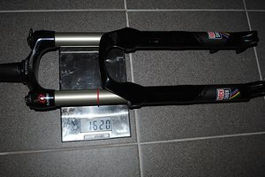 Rock Shox Federgabel Revelation Worldcup DPA 150mm, tapered, 230mm Schaft ohne Steckachse, MC Dämpfung
