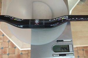 KEDDIE WCS 3k Carbon Riser, black glossy
