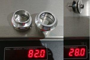 CNC Threadless External Headset Sealed Cartridge Bearings