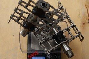 Pedal 4 mit Titanachse
