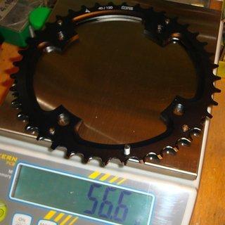 Gewicht Tune Kettenblatt Triebtreter AL 120mm, 40Z