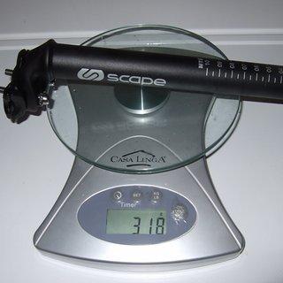 Gewicht Scape Sattelstütze Sattelstütze (Alu) 27.2 x 350mm