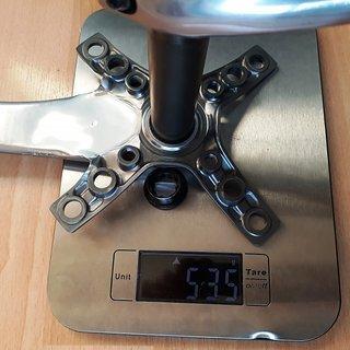 Gewicht Shimano Kurbel XTR FC-M960 175mm, 68/73mm, HTII