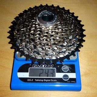 Gewicht SRAM Kassette XG-1080 10-fach, 11-36Z