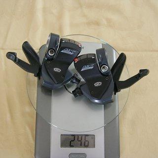 Gewicht Shimano Schalthebel LX SL-M570 3x9-fach