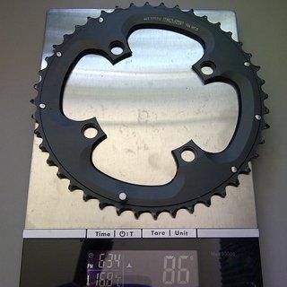 Gewicht Truvativ Kettenblatt 10SPD 104mm, 44Z