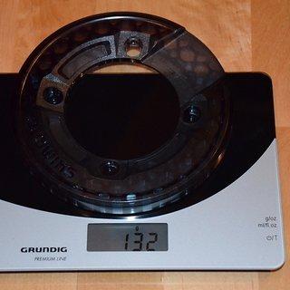 Gewicht Shimano Bashguard Saint 81Xer-Serie 32/36Z, 104mm