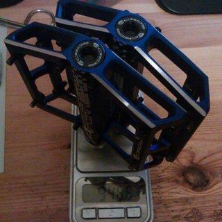 Gewicht Acros Pedale (Platform) A-Flat SL 89x98x18mm