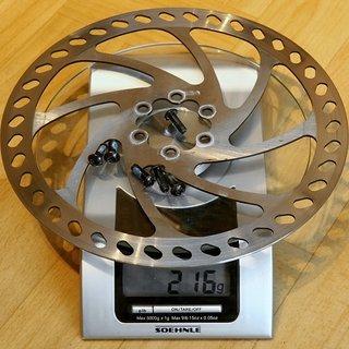 Gewicht Hayes Bremsscheibe Bremsscheibe 203mm
