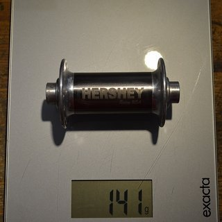 Gewicht No-Name Nabe Hershey 5150 Suspension Hub 100 mm