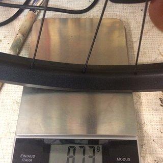 Gewicht Syntace Systemlaufräder W 35 MX  VR 29 15 x 100