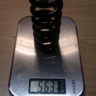 Gewicht Manitou Feder 550 x 2.5 550 x 2.5