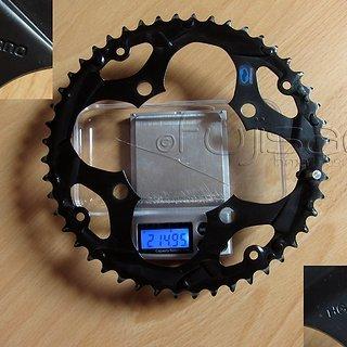 Gewicht Shimano Kettenblatt SG-X HG Z-48 104mm, 48Z