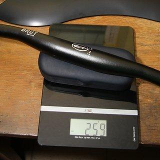 Gewicht CONTEC Lenker Brut Flattop OS 31,8 x 720mm