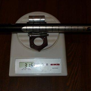 Gewicht RooX Sattelstütze S4.2 29,4 x 430mm