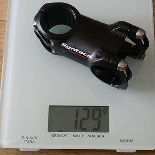Gewicht Syntace Vorbau Megaforce 2 31.8mm, 60mm, 6°