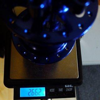 Gewicht Fun Works Nabe N-Light Evo HR 6 Loch 135/QR 32-Loch
