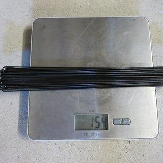 Gewicht Sapim Speiche D-Light 262mm, 32 Stück