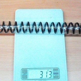 Gewicht Marzocchi Feder 888 evo/rcv Stahlfeder mittel/rot