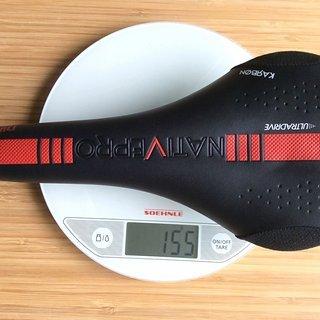 Gewicht Selle San Marco Sattel Native Pro Carbon