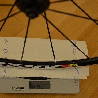 Gewicht Mavic Systemlaufräder Aksium S - VR ETRTO-Grösse: 622 x 15c