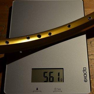 """Gewicht Dartmoor Felge Raider 26"""" 36 Loch"""