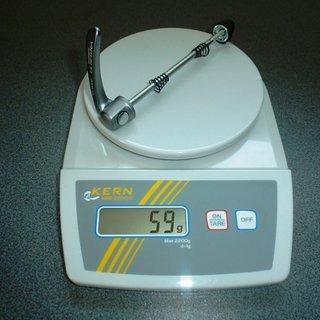 Gewicht Shimano Schnellspanner Ultegra HB-6600 100mm