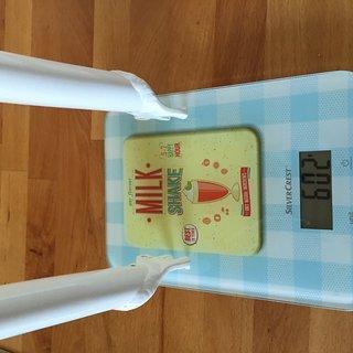 "Gewicht Kaniabikes Starrgabel Gabel 24"" large (V-Brake) Einbauhöhe 395mm, SL 180"