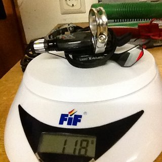 Gewicht SRAM Schalthebel XX1 11-fach