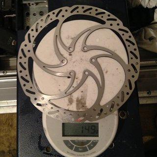 Gewicht Trickstuff Bremsscheibe Cleg 180mm