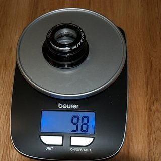 """Gewicht Ritchey Steuersatz Pro Tapered Press Fit 1-1/8"""" - 1-1/2"""", ZS44/40, ZS55/40"""