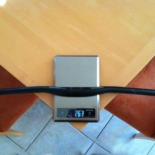 Gewicht Concept Lenker EX Riser Aluminium 31,8 x 680mm