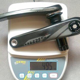 Gewicht SRAM Kurbel S2200 175mm, BB30