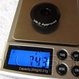 "Gewicht Syntace Ahead-Kappe Litecap 1 1/8"""