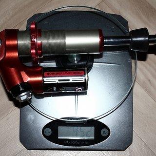Gewicht BOS Dämpfer Stoy 222 x 70mm