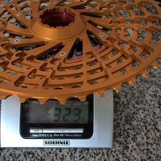 Gewicht KCNC Kassette 9-52  V2.0